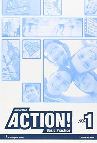 9789963489596: Burlington action eso 1 c wb basic practice spa