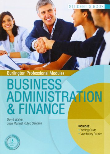 9789963510559: BUSINESS ADMINISTRATION FINANCE SB GS Burlington Books