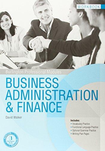 BUSINESS ADMINISTRATION FINANCE WB Burlington (Paperback)