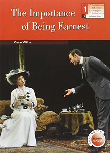 9789963516025: IMPORTANCE OF BEING EARNEST,THE 1ºNB BAR
