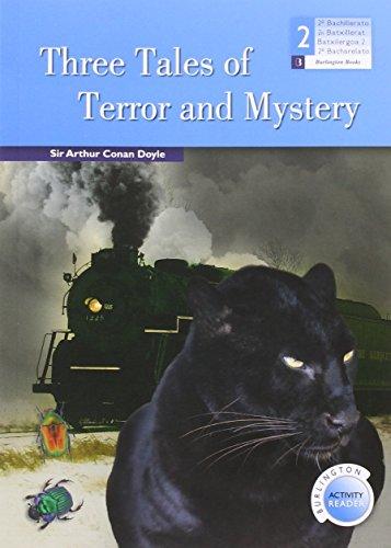 Three tales of terror and mystery. 2ºbachillerato. Reader: Vv.Aa