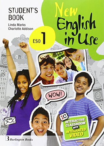 9789963516575: New English in Use ESO 1 Student's Book