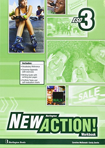 9789963516988: New Burlington Action 3 Workbook + Language Builder