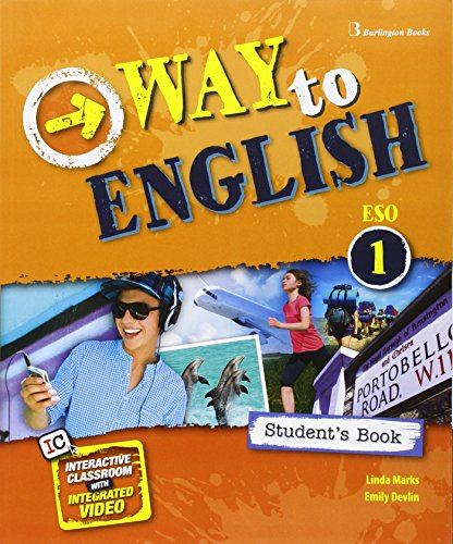 9789963517244: 16 way to english 1 eso student's book