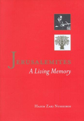 9789963610389: Jerusalemites: A Living Memory