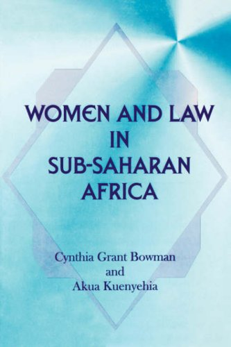 9789964722357: Women and Law in Sub-Saharan Africa