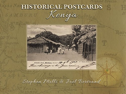 9789966176073: Historical Postcards of Kenya