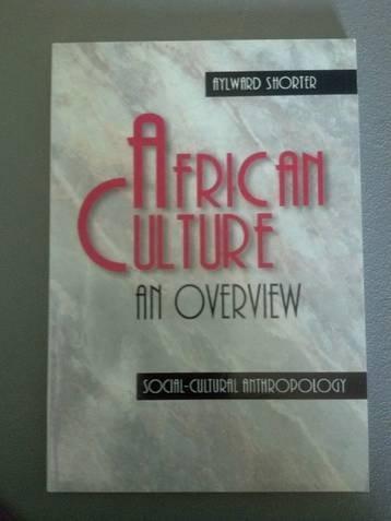 9789966214126: African culture, an overview: Socio-cultural anthropology (Handbook / African church)