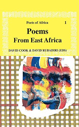 9789966460196: Poems from East Africa (Poets of Africa)