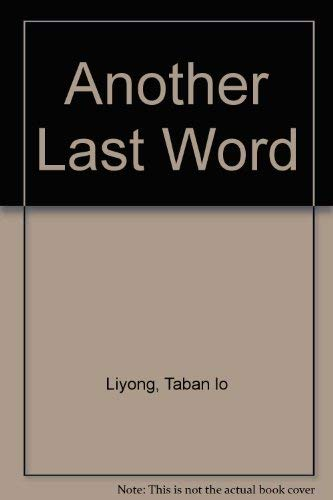 9789966467102 - Liyong, Taban lo: Another Last Word - Book