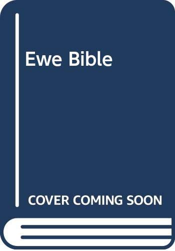 9789966843166: Ewe Bible
