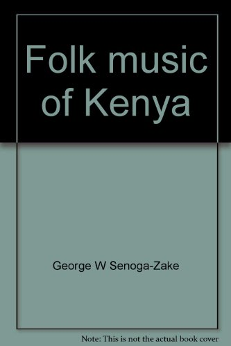 9789966855565: Folk music of Kenya