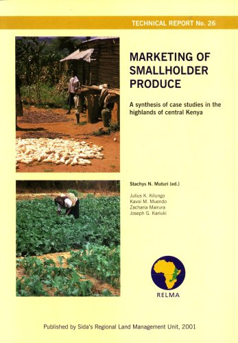 Marketing of Smallholder Produce: A Synthesis of Case Studies in the Highlands of Central Kenya: ...
