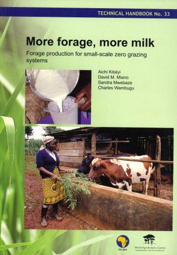 9789966896742 - Aichi Kitalyi, David M. Miano, Sandra Mwebaze, Charles Wambugu: More Forage, More Milk: Forage Production for Small-scale Zero Grazing Systems - Book