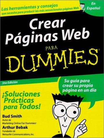 9789968370165: Crear Paginas Web Para Dummies