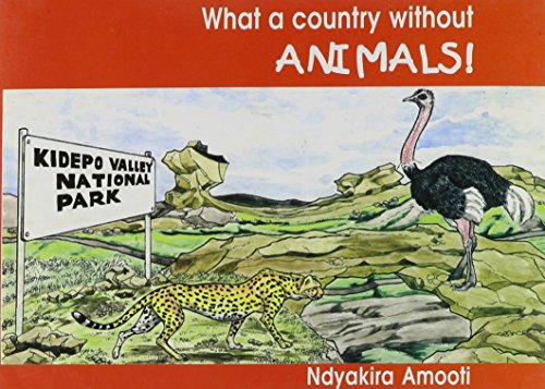 9789970020966: What a Country Without Animals
