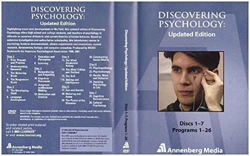 9789970064878: Discovering Psychology: Updated Edition (Programs 1-26 on DVD)