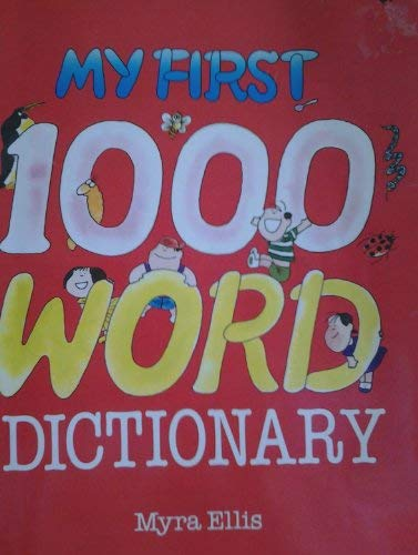 9789971410568: My first 1000 word dictionary