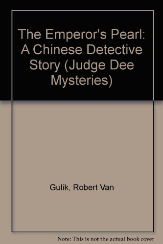 9789971490621: The Emperor's Pearl: A Chinese Detective Story (Judge Dee Mysteries)