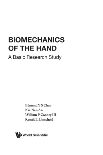 9789971501044: Biomechanics Of The Hand: A Basic Research Study