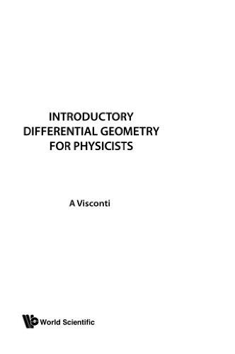 9789971501877: Introductory Differential Geometry For Physicists