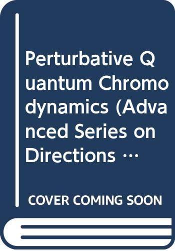 9789971505646: Perturbative QCD (World Scientific Lecture Notes in Physics)