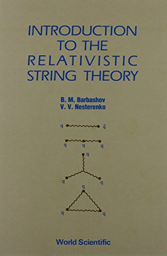 9789971506872: Introduction to the Relativistic String Theory