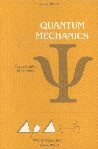 9789971507527: Quantum Mechanics
