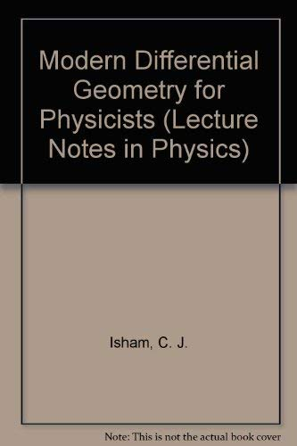 9789971509576: Modern Differential Geometry for Physicists