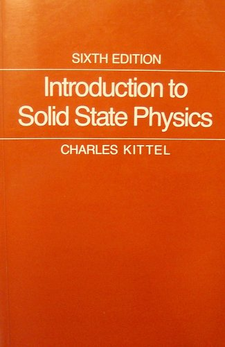 9789971510480: Introduction to Solid State Physics