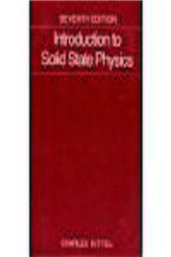 9789971511807: Introduction to Solid State Physics International Ed Seventh Edition