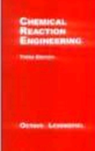 9789971512415: Chemical Reaction Engineering Edition: Third