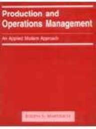 9789971512606: Production and Operations Management