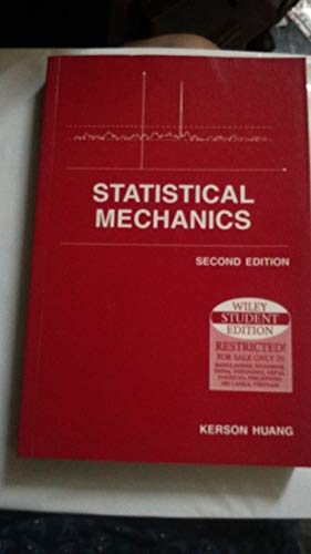 9789971512958: Statistical Mechanics