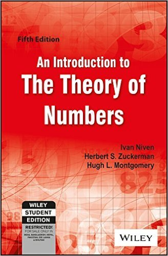 9789971513016: An Introduction to the Theory of Numbers
