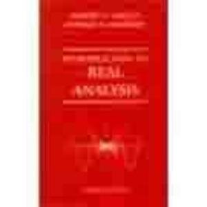 9789971513061: Introduction to Real Analysis, 3rd Edition
