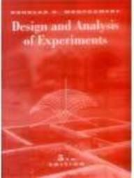 9789971513290: Design and Analysis of Experiments