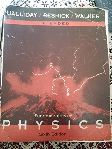 Extended ,Fundamentals of Physics,6th Edition (9971513307) by [???]