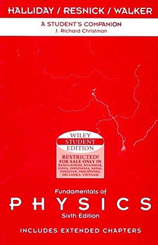 9789971513337: Fundamentals of Physics : Student Companion