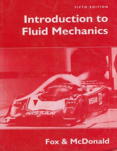 Introduction To Fluid Mechanics: Robert W. Fox;