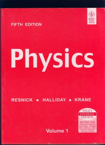 Physics (Volume 1, 5th Edition): David / Resnick,