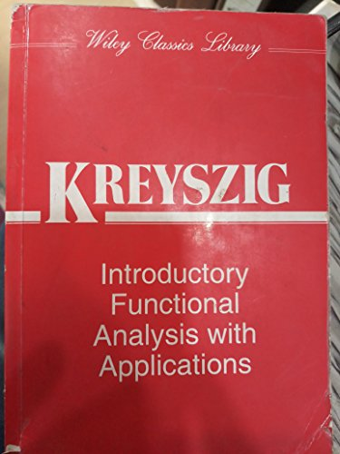 9789971513818: Introductory Functional Analysis with Applications