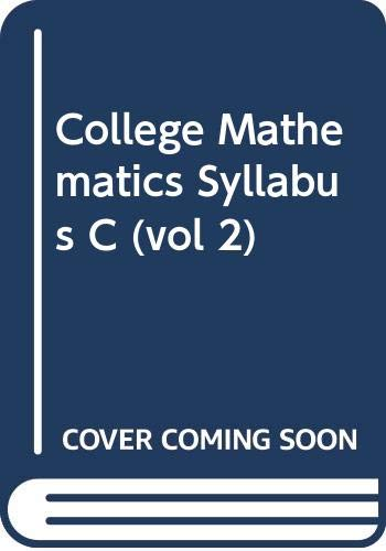 9789971638634: College Mathematics Syllabus C (vol 2)