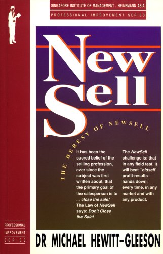 New Sell: The Heresy of NewSell: Michael Hewitt-Gleeson