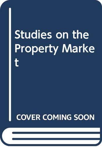 Studies on the Property Market: Sim Loo Lee,