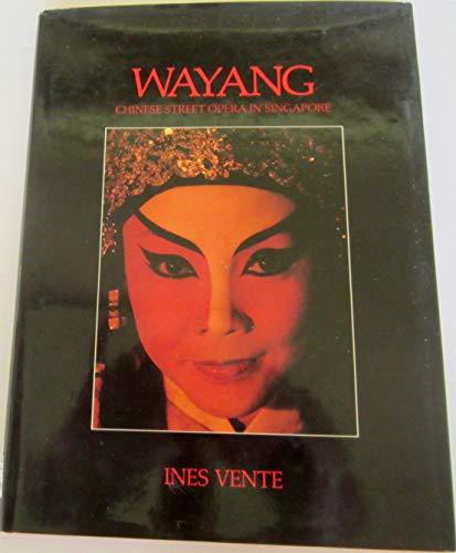 9789971730949: Wayang, Chinese street opera in Singapore