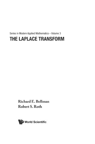 Laplace Transform, The (Series in Modern Applied: Bellman, R