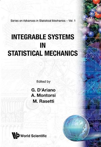 9789971978112: Integrable Systems in Statistical Mechanics (Advanced Series in Statistical Mechanics, Volume 1)