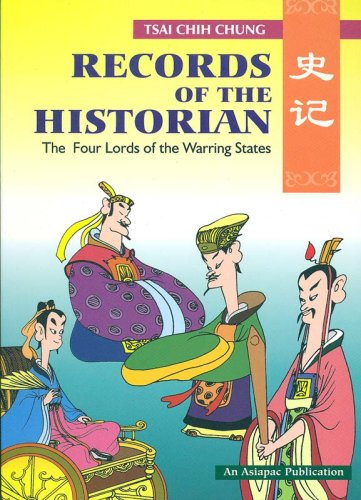 9789971985530: Records of the Historian: The Four Lords of the Warring States (Asiapac comic series)