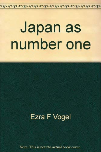 9789971988609: Japan as number one: Revisited